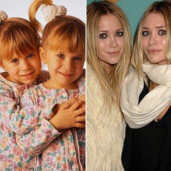 Elas dispensam apresentação. As gêmeas Mary-Kate e Ashley Olsen se revezavam o papel da esperta Michelle, a caçula da série 'Três é Demais'. Até hoje estão na ativa.