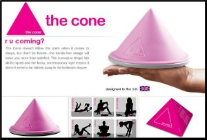 Cone massageador